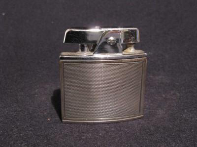 RONSON guilloche blue su argento