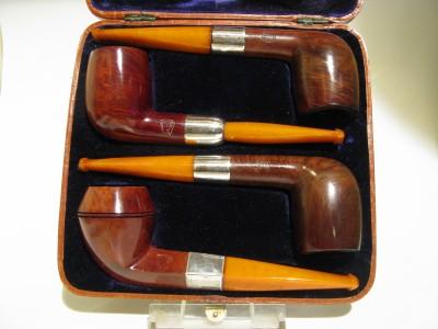 James Aitchinson -  4 pipes presentation set - 1912